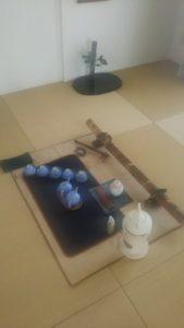 テーブル茶道、素心流、日本茶