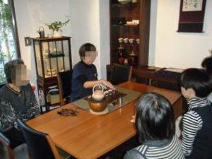テーブル茶道,煎茶らんど,日本茶